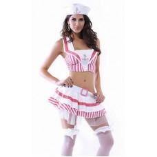 Adult Female Women Sunset Sailor Outfit  hen party Fancy dress costume