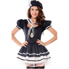Adult Female Women Sailor Sweetie Costume hen party Fancy dress costume outfit